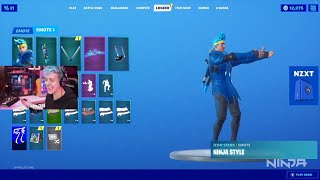 Ninja *REVEALS* his Fortnite Skin! (FINALLY)