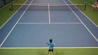 ?Rafa vs Roger? playing tennis 9 years