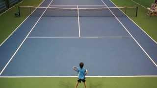 Большой теннис 9 лет