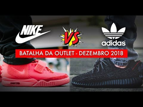 finest selection 11c07 47890 ADIDAS x NIKE (Outlet Dezembro 2018)