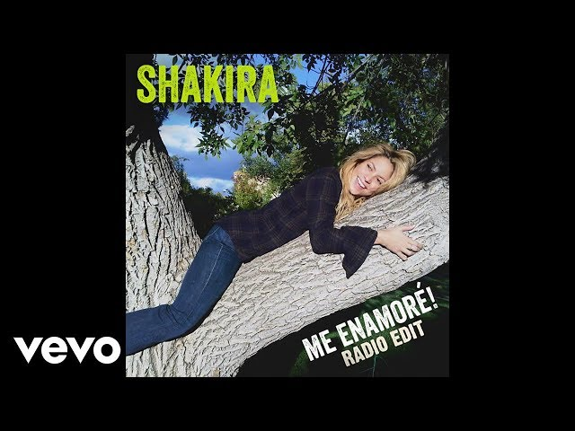 Shakira - Me Enamoré (Clean Version) [Radio Edit]