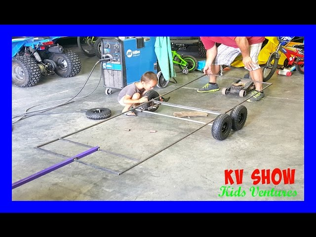 Part 1: Building The Hitch For The Power Wheels Ride On Dodge Ram 3500 Dually