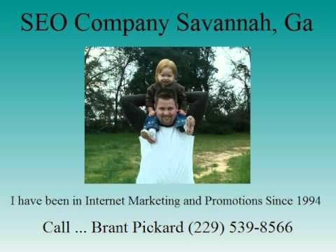 Web Design Savannah Ga - Brant Pickard (229) 539-8566