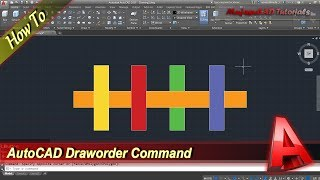 AutoCAD Tutorial How To Use Draworder Command