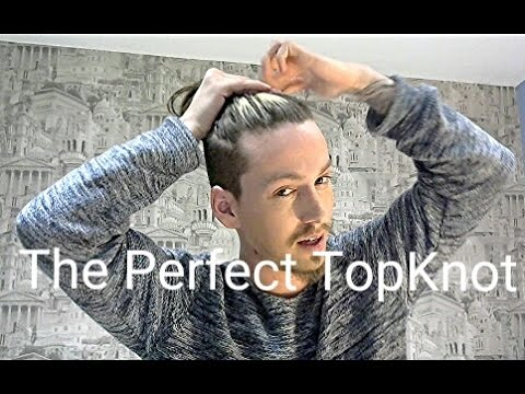 Mens Hair   The Perfect TopKnot Guide/Tutorial   YouTube