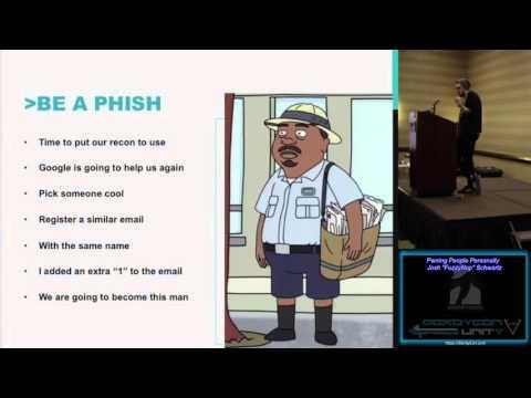 Break Me08 Pwning People Personally Josh Schwartz