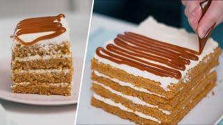 Морковныи торт Рецепт морковного торта с карамелью Рецепт торта