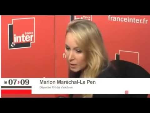 Marion Le Pen pulvérise Patrick Cohen en direct