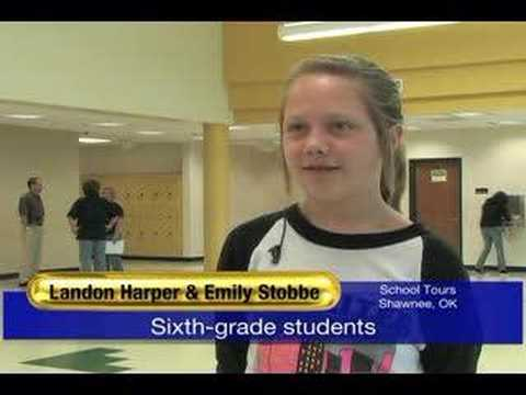 Shawnee Middle School gives tours