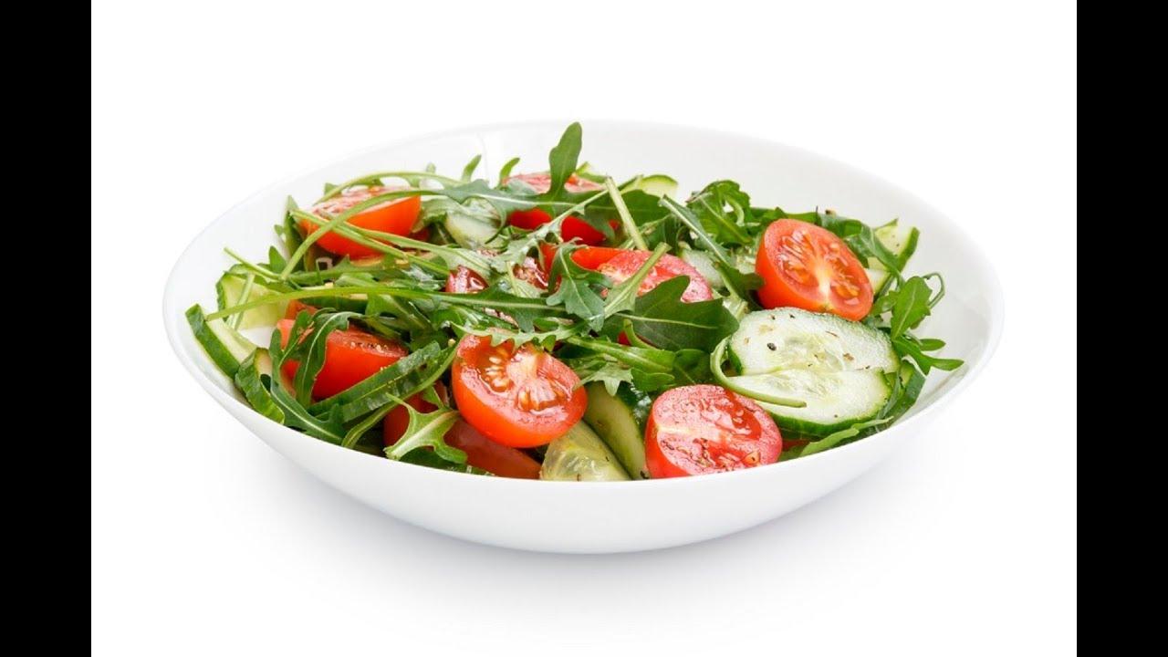НОВОГОДНИЙ СТОЛ 2020! САЛАТ с РУККОЛОЙ, овощами и сыром фетакса - оригинальный рецепт