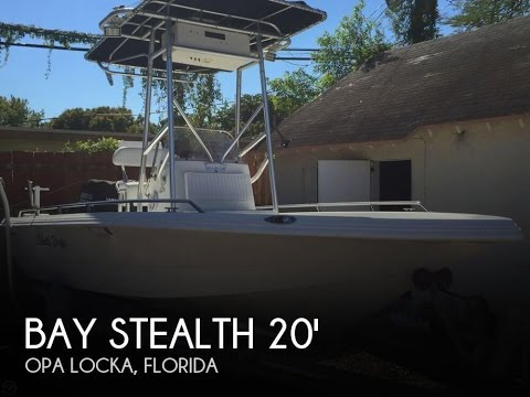 [UNAVAILABLE] Used 2003 Bay Stealth 2030 VIP in Opa Locka, Florida