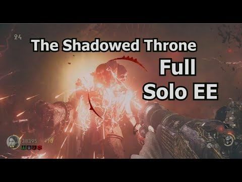 The Shadowed Throne Full Solo Easter Egg & Boss Fight