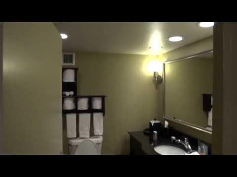 Bathroom Tour:  Kohler Toilet at a hotel