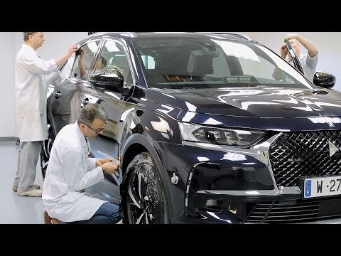 DS 7 Crossback Presidential built for Emmanuel Macron