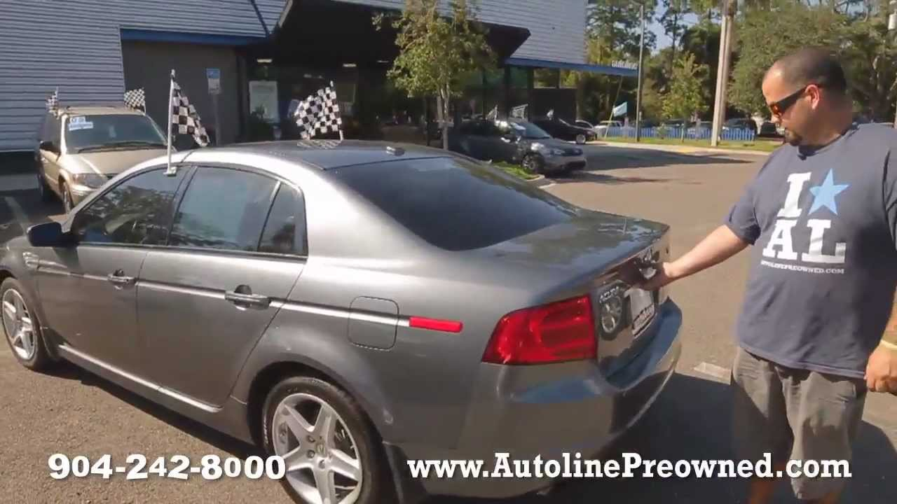 autoline s 2006 acura tl walk around review test drive youtube