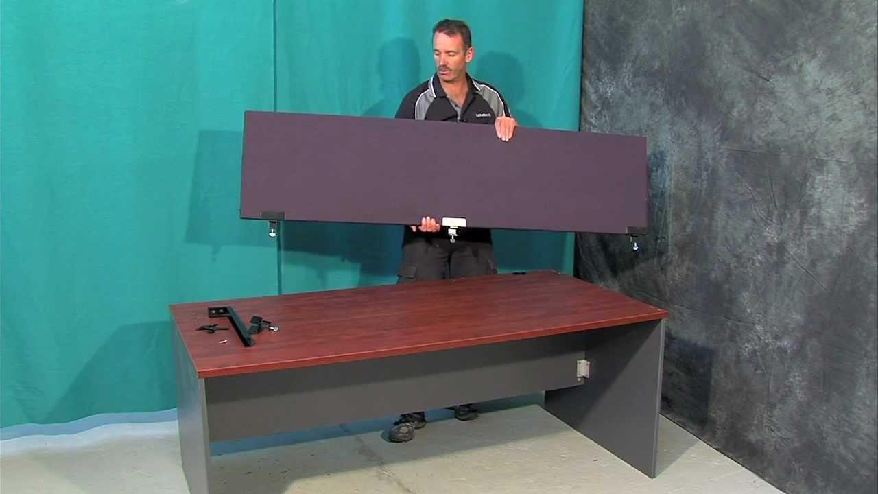 SK Partitions Desk Partitions Video
