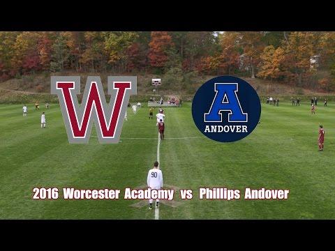 2016 Worcester Academy Soccer vs  Phillips Academy