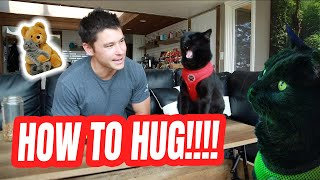 TEACH YOUR CAT HOW TO HUG #1