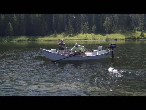 How to Fish A Dry Fly on a Lake - Hebgen Lake MT - RIO Products