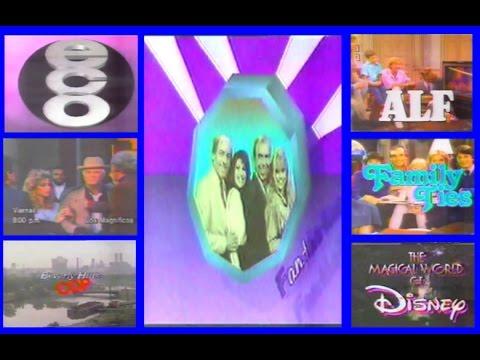Teletica canal 7  Programación Retro 1991