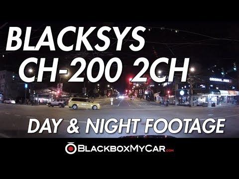 BlackSys CH-200 Sample Video - BlackboxMyCar