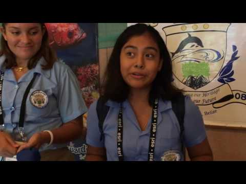 Caye Caulker Ocean Academy (Belize) Students and their Marine Debris Project