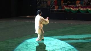 崔仲三大師 楊式太極拳 2011 香港武術協會 太極邀請賽 名家表演