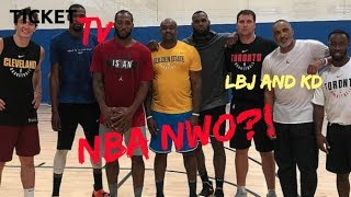 KEVIN DURANT TO JOIN THE LOS ANGELES LAKERS AND LEBRON JAMES AFTER THIS SEASON! (REPORT)