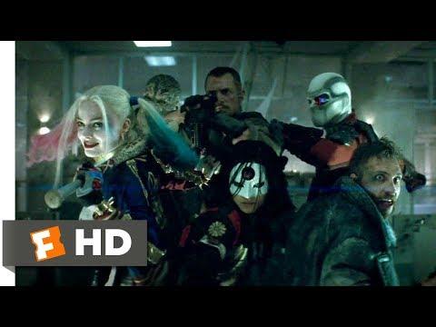 Suicide Squad (2016) - Office Building Battle Scene (4/8) | Movieclips