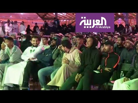 السعوديون تابعو النهائي من خلال الشاشات العملاقة  - نشر قبل 10 ساعة