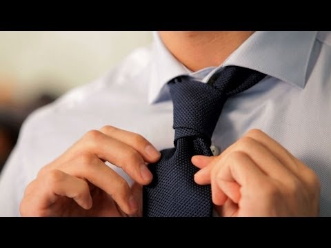 How to Tie a Prince Albert Knot | Men's Fashion