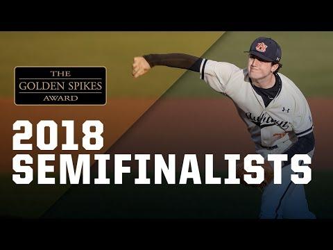 2018 Golden Spikes Award Semifinalists