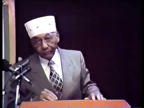 Supreme Minister John Muhammad Teaches on His History
