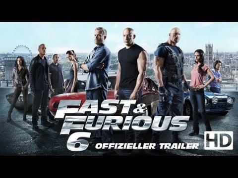 Fast & Furious 6 - Trailer 2 deutsch / german HD
