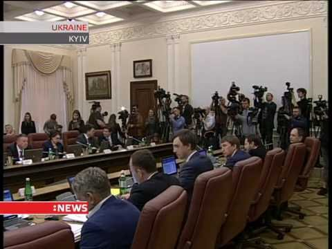 First meeting of the new Cabinet of Ministers of Ukraine