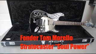 Fender Tom Morello Stratocaster - unboxing and spec check