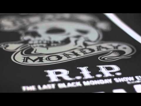 Black Monday limited edition art print