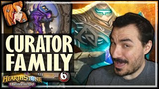 THE CURATOR FAMILY WILL BE EVEN STRONGER! - Hearthstone Battlegrounds