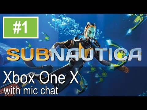 Subnautica Full Release Xbox One X Gameplay (Lets Play #1)