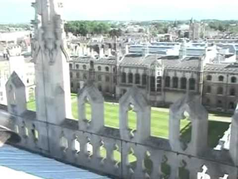 Cambridge University from the roof of King's College Chapel - 2009