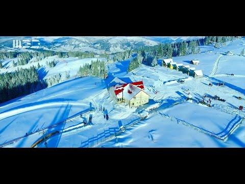 Vatra Dornei - The Pearl of Bucovina - Aerial Video - December 2016