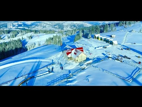 Vatra Dornei - The Pearl Of Bucovina - Aerial Video - December 2016