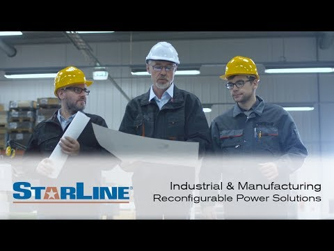 Industrial and Manufacturing: Reconfigurable Power by Starline