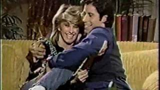 Olivia Newton-John & John Travolta on Dick Cavett Behind The Scenes 1983 Part 2