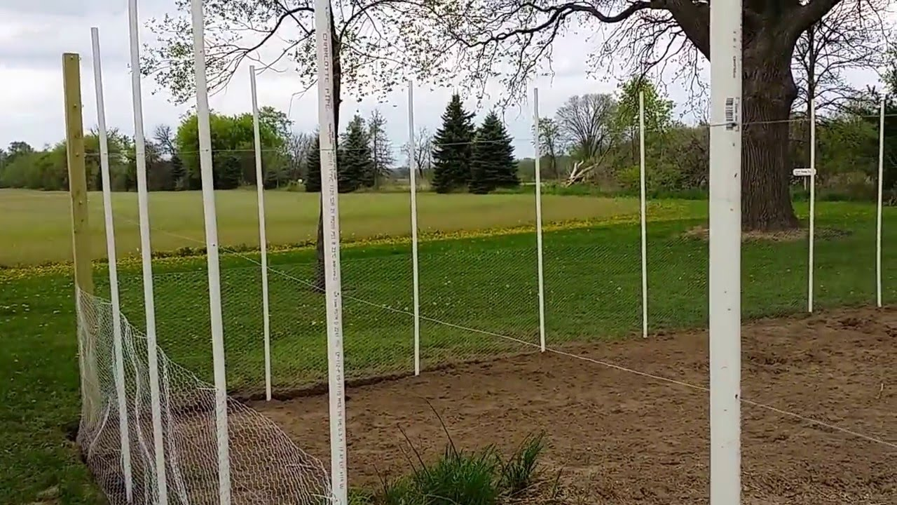 Deer Rabbit Fence for Garden YouTube