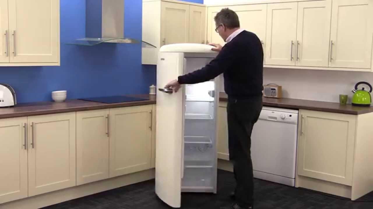 Gorenje Retro Kühlschrank No Frost : Gorenje retro vintage rb ocl tall fridge with ice box youtube