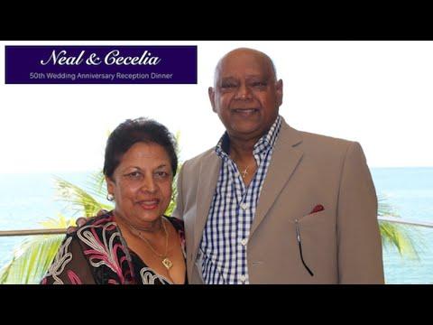 Neal & Cecelia's 50th Wedding Anniversary - Trinidad