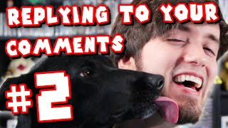 Dog Kisses! - Replying to YOUR Comments! #2