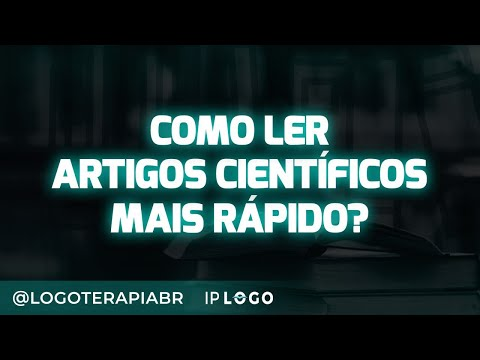 Видео Artigos cientificos psicologia