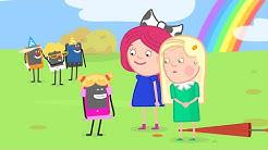 Zeichentrick auf Deutsch. Smarta und ihre magische Tasche. Der Regenbogen